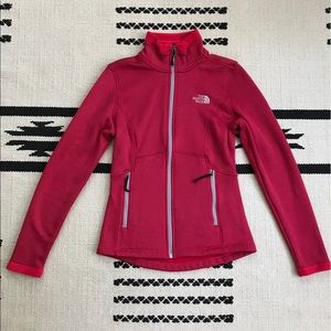 TNF Agave Jacket in Rose Red Heather